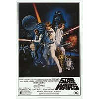 Star Wars Episode IV A New Hope Poster 24x36