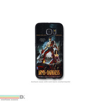 Army of Darkness Movie Poster, Custom Phone Case for Galaxy S4, S5, S6