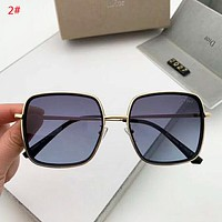 DIOR Fashion New Polarized Women Men Sun Protection Glasses Eyeglasses 2#