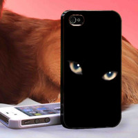 Black Cat  Eyes -  iPhone 6, iPhone 6+, samsung note 4, samsung note 3,iPhone 5C Case, iPhone 5/5S Case, iPhone 4/4S Case, Durable Hard Case