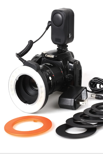 Image of Ring Light Universal Camera DSLR fits all Lens - SCFC150 CLOSEOUT