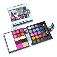 Best Selling! Pro Small Makeup Eyeshadow Palette Fashion Eye Shadow Make Up Shadows Cosmetics New 56g For Women