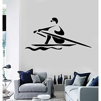 Wall Stickers Vinyl Decal Sport Rowing Boating z1244