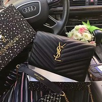 YSL hot sale classic messenger bag chain bag fashion lady one-shoulder messenger bag