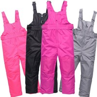 New Warm Adjustable Straps Solid  Waterproof Winderproof Outdoor Pant Pantalones Snowboard Hombre Candy Color Snowboard Pant