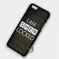 Quote Sherlock Wallpaper - iPhone 7 Plus 6 5 4 Cases & Covers
