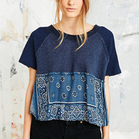 Free People Vintage Bandana Crop Top - Urban Outfitters