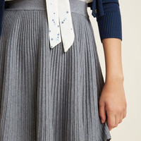 Compania Fantastica Brooklyn Book Tour Pleated Knit Skirt