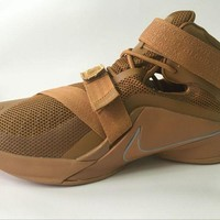 """NIke Zoom LeBron James  Soldiers 9 Ⅸ """"Desert Camouflage"""" Basketball  Shoes"""