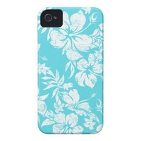 Hibiscus Pareau Hawaiian Barely There iPhone 4 Case-Mate Case from Zazzle.com