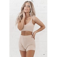 In My Cozies Taupe Set