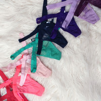 Lace X Thong (more colors)!