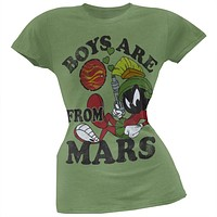 Marvin the Martian - Boys Are From Mars Juniors T-Shirt