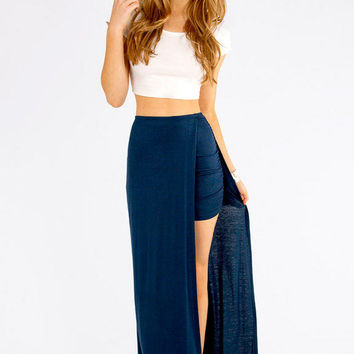 In and Out Maxi Skirt $28