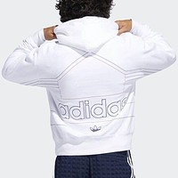 Adidas Autumn Winter Fashion Casual Print Long Sleeve Hoodie Sweater Sweatshirt