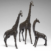 Cyan Design Medium Giraffe Sculpture - 04847