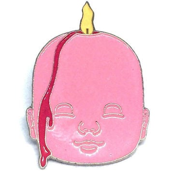 Doll Head Pin