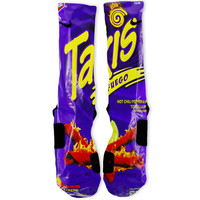 Takis Purple Custom Nike Elite Socks