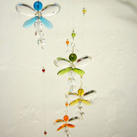 Nursery Idea Baby Mobile Boy Baby Shower Baby Girl Mobile Dragonfly Mobile Swarovski Crystal Suncatcher Rainbow Hanging Mobile Room Decor