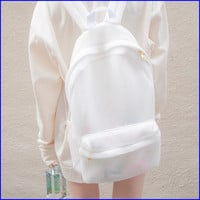 Mesh backpack from MaryJanenite