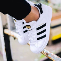 "shosouvenir ""Adidas"" Women Casual Running Sport Shoes Sneakers"