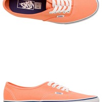 VANS CANTALOUPE AUTHENTIC SHOE