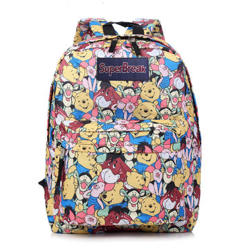 College Comfort On Sale Hot Deal Stylish Casual Back To School Disney Cartoons Backpack [4962072708]