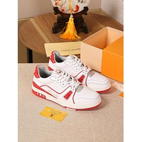 lv louis vuitton womans mens 2020 new fashion casual shoes sneaker sport running shoes 162