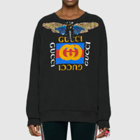 Gucci Fashion Long Sleeve Pullover Sweatshirt Top Sweater