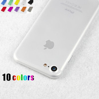 Fashion Transparent Frosted hard Phone Case for iphone 7 5 5s se 6 6S plus 7 plus back Protective cover coque fundas capinha