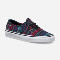 VANS Guate Stripe Authentic Womens Shoes | Sneakers