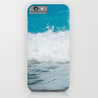 Wave iPhone & iPod Case by SensualPatterns