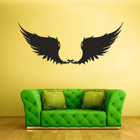 Wall Vinyl Sticker Decals Decor Art Bedroom Design Wings Angel (z1911)