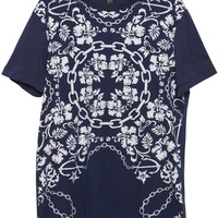 Bandana Placement Tee - Navy – ksubi