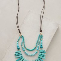Lucero Necklace by Anthropologie Turquoise All Necklaces