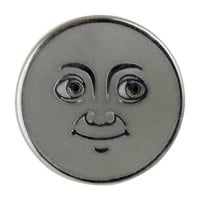 Moon Emoji Pin