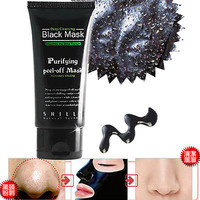 Deep Cleaning Skin Blackhead Pore Removal Acne Treatment Black Mud Face Mask