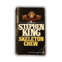 """1986 Signet Paperback Book """"The Skeleton Crew"""" by Stephen King Tenth Printing"""