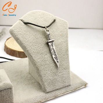 Supernatural knife knife leather cord necklace Speed sell hot new product