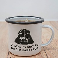 Darth Vader Dark Side Enamel Mug