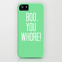 Mean Girls #4 – Boo iPhone & iPod Case by Enyalie