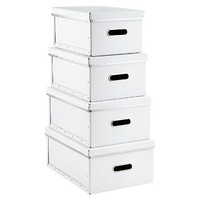 White Store Anywhere Boxes | The Container Store