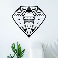 Boho Diamond Decal Sticker Wall Vinyl Art Home Decor Teen Beautiful Design Shine Bright