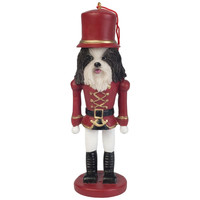 Red Shih Tzu Nutcracker Christmas Ornament