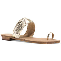 MICHAEL Michael Kors Daniella Thong Sandals - Sandals - Shoes - Macy's
