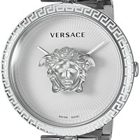 Versace Women's 'PALAZZO EMPIRE' Swiss Quartz Stainless Steel Casual Watch, Color:Silver-Toned (Model: VCO090017)
