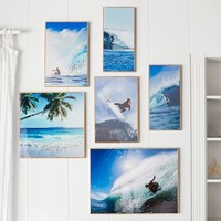 Kelly Slater Bamboo Lacquered Gallery Art and Set
