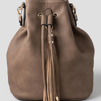Raymond Drawstring Tassel Backpack