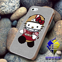 Hello Kitty San Fransisco 49ers For iPhone Case Samsung Galaxy Case Ipad Case Ipod Case