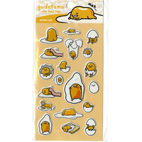 Gudetama Puffy Sticker Sheet